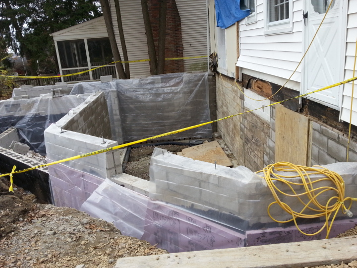 We passed our framing inspection and have placed the concrete for our basement floor.